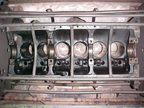 thermal clean engine block